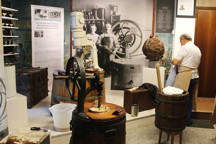 MIM museo interattivo migrazioni gelato