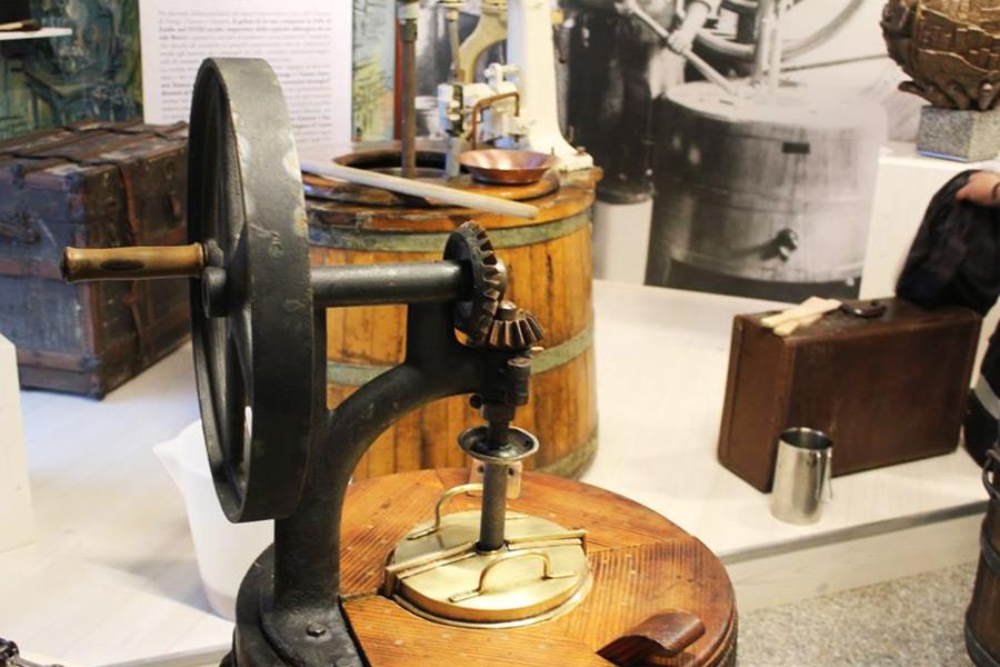 MIM museo interattivo migrazioni mantecatore gelato