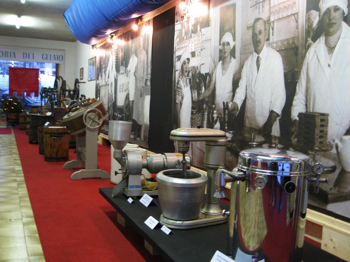 museo gelato zoldano attrezzature