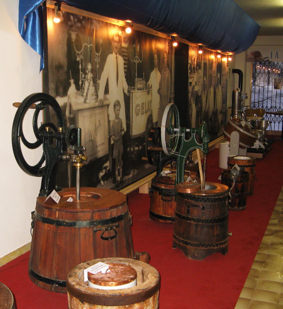 museo gelato zoldano mantecatori